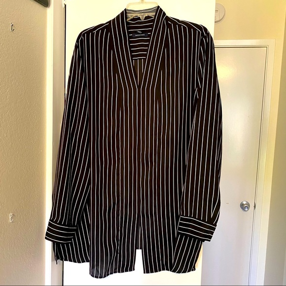 Plus size 3X Land's End blouse w/ long sleeves